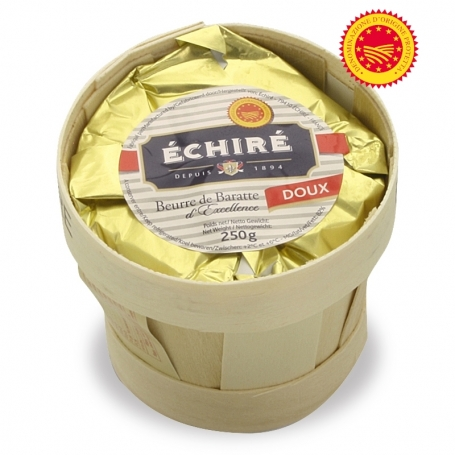 Beurre AOP Loire - ECHIRE Dolce, 250 gr