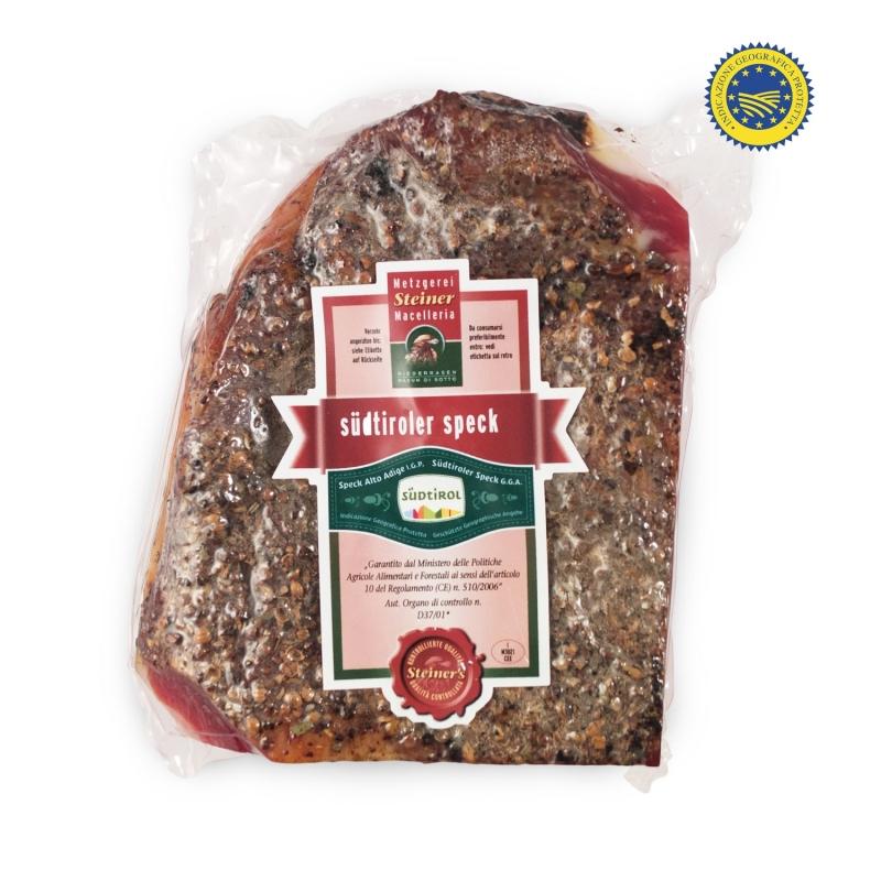 Speck Alto Adige IGP, 525 gr - Butchery Steiner