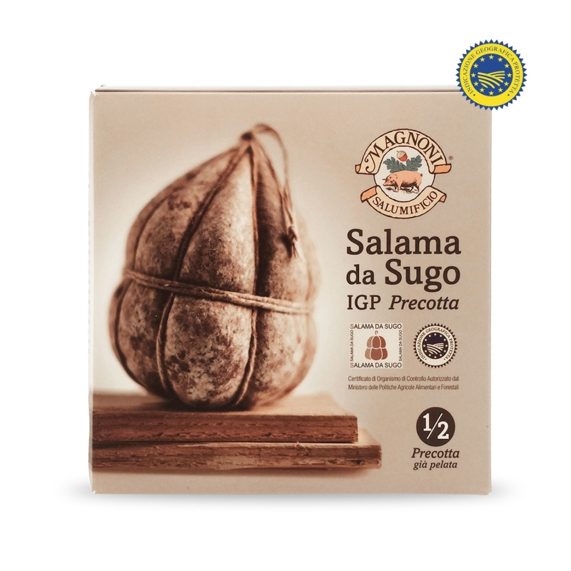 Mezza salama da sugo IGP precotta - Salumificio F.lli Magnoni