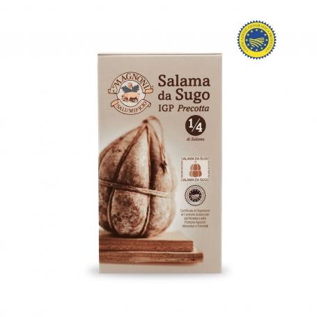 Salama from PGI precooked sauce, 250 gr - Salumificio Fratelli Magnoni