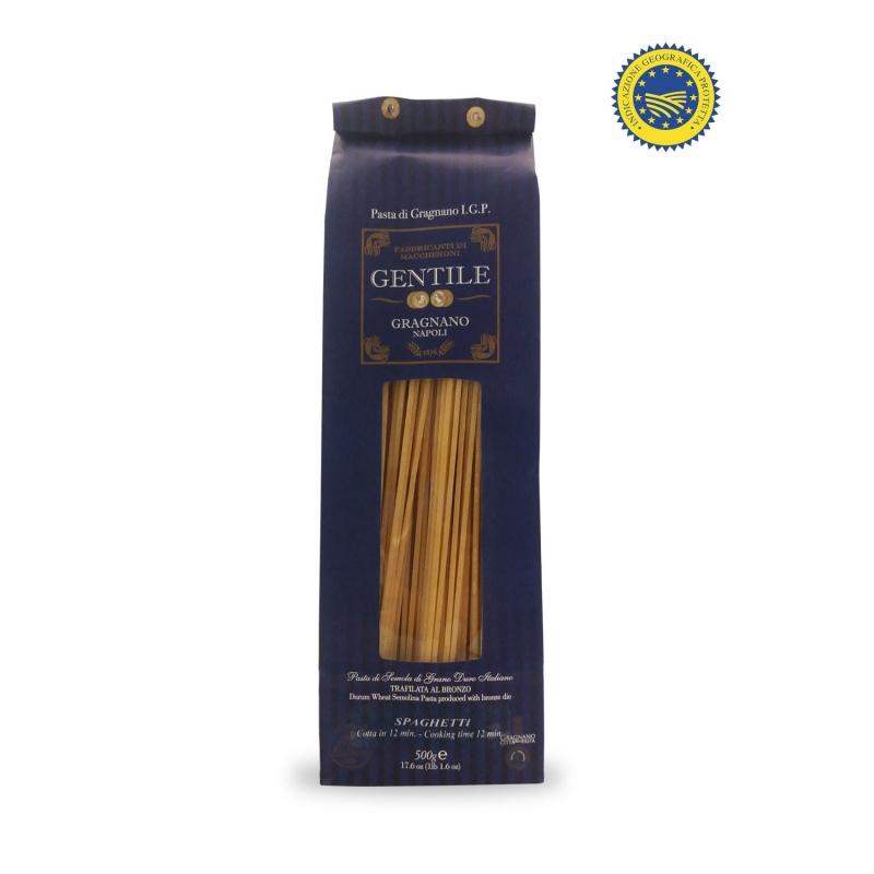 Spaghetti Pasta di Gragnano IGP, 500 gr - Pastificio Gentile