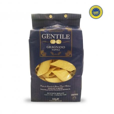 Pennoni rigati Pasta di Gragnano IGP, 500 gr - Pastificio Gentile - Pastificio Gentile