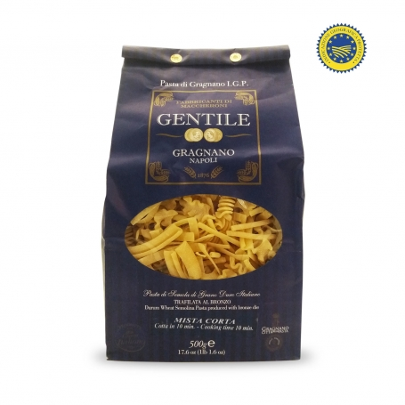 Short Mixed Pasta di Gragnano IGP, 500 gr - Pastificio Gentile