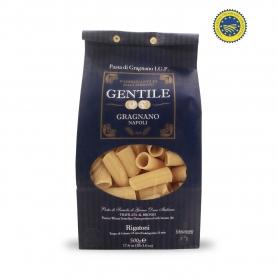 Rigatoni Pasta di Gragnano IGP, 500 gr - Pastificio Gentile - Pastificio Gentile