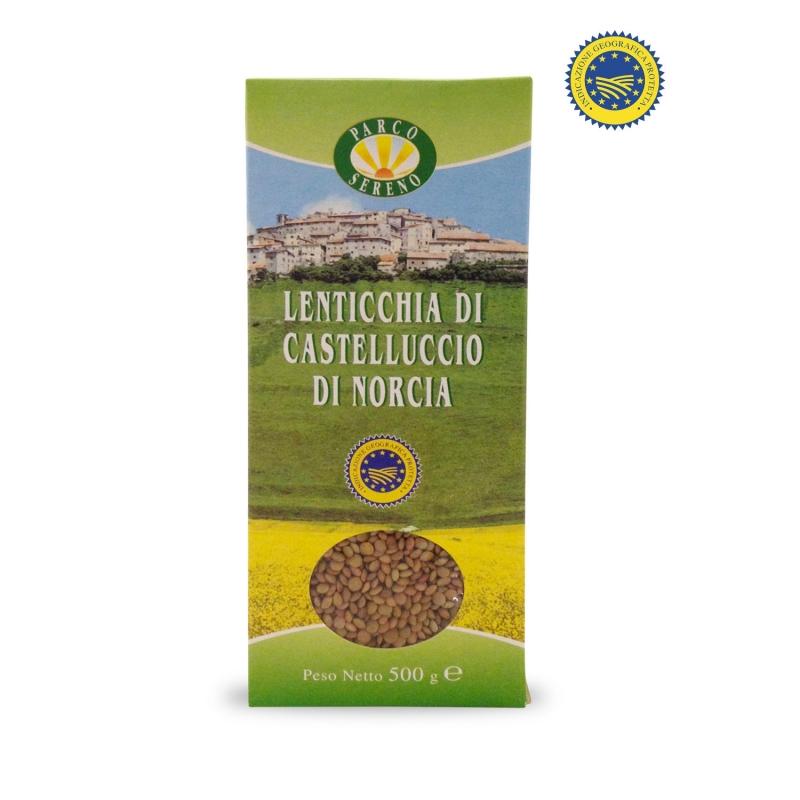 lentils from Castelluccio di Norcia IGP, 500 gr. - Park Light
