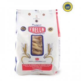 Penne piccole rigate Pasta di Gragnano IGP, 500 gr. - Pastificio Faella