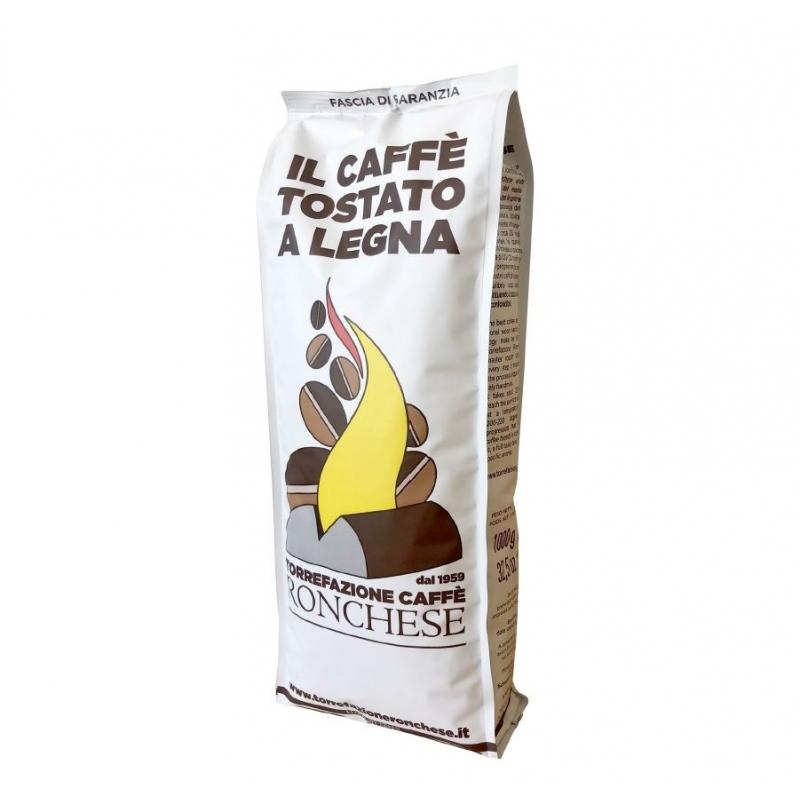 Grains de café 100% Arabica, 1 kg. - Café Ronchese