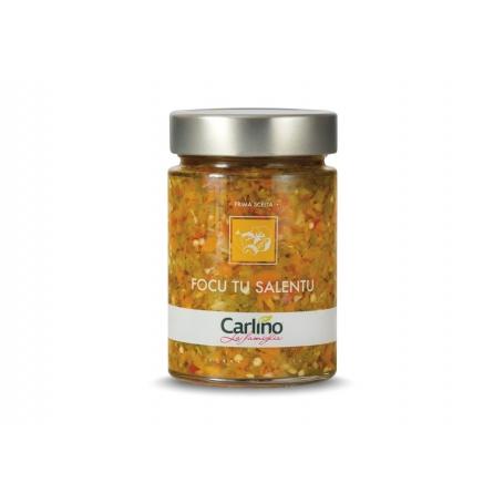 Focu vous salentu dans l'huile d'olive extra vierge, 285 gr - Carlino