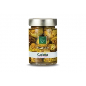 Carlini artichokes in olive oil, 280 gr - Pug
