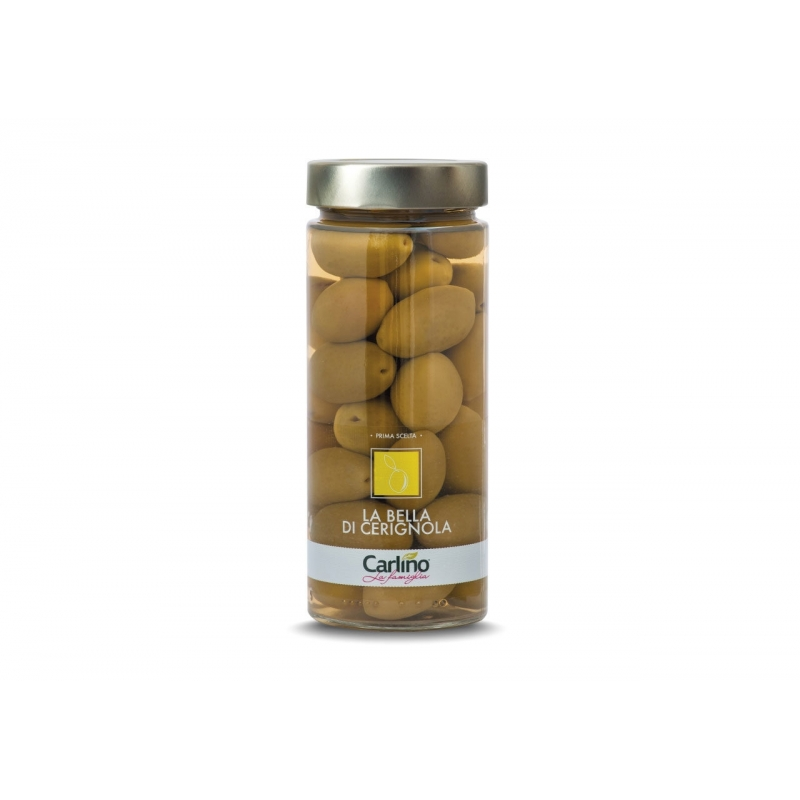 "Green Olive Giants ""Bella di Cerignola"", 530 gr - Pug"