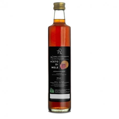 Aceto di mela invecchiato in botte, 500 ml - Terre Alte d'Occidente