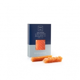 Classic smoked salmon fillet heart, 150 gr - Carpier