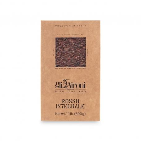 Red Integrale Rice, 500 gr - Gli Aironi - Riso Integrale