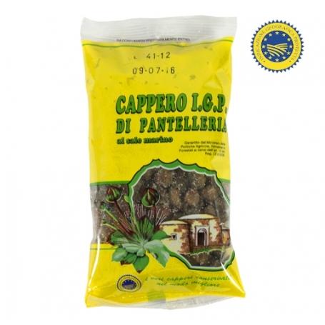 Capperi di Pantelleria IGP (medio calibro 9), 200 gr - Cooperativa Agricola Produttori Capperi - I Secchi e Sotto Sale