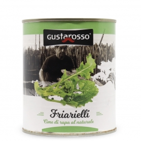 Friarielli (turnip greens) natural, 700 gr - Gustarosso