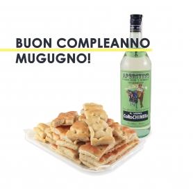 L'aperitivo Genovese - Focaccia 1KG + Corochinato L'Asinello - Il Mugugno genovese