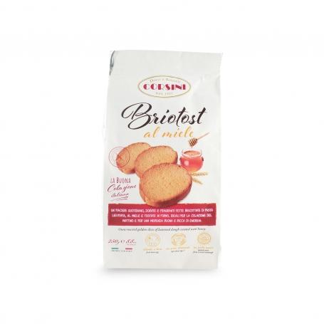 Fette biscottate al miele, 250 gr - Corsini