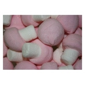 Candy Marsh Mallow mushrooms, 300 gr