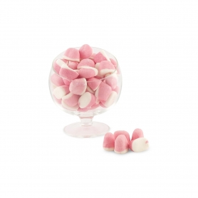 Marsh Mallow Cream and Strawberry, 300 gr