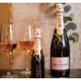 Moet & Chandon - Champagne Rosé Impérial, l. 0.75 1 bottle pouch.