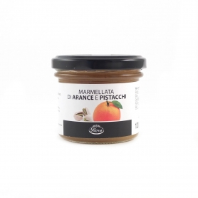Orange and pistachio jam, 120 gr - Rossi 1947 - Marmellate e gelatine