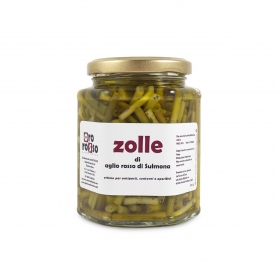 Zolle di aglio rosso di Sulmona, 300 gr - Oro Rosso
