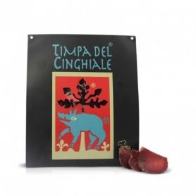 Filetto di cinghiale preaffettato, 100 gr - Timpa del Cinghiale - Salumi selvaggina
