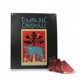 Fiocco di prosciutto di cinghiale preaffettato, 100 gr - Timpa del Cinghiale