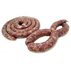 Salsiccia fresca di cinghiale, 600 gr (4x150gr) - Timpa del Cinghiale - Cinghiale