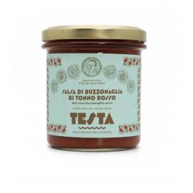 Salsa di buzzonaglia di tonno rosso, 300 gr - Testa Conserve