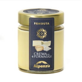 Crema ai quattro formaggi, 140 gr - Alpenzu
