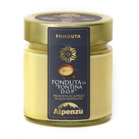 Fonduta di Fontina DOP d'alpeggio, 230 gr - Alpenzu