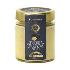 Fonduta al tartufo nero, 140 gr - Alpenzu