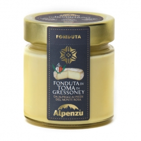 Fondue of Toma of Gressoney, 230 gr - Alpenzu