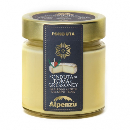 Fondue of Toma of Gressoney, 230 gr - Alpenzu
