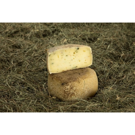 Toma all'ortica e calendula, 274 gr - Fromagerie Haut Val d'Ayas