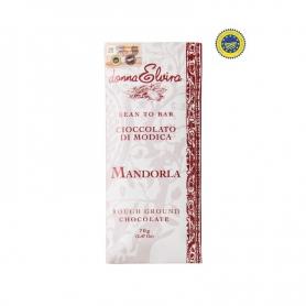Cioccolato di Modica IGP Mandorle - gr 70 - Donna Elvira