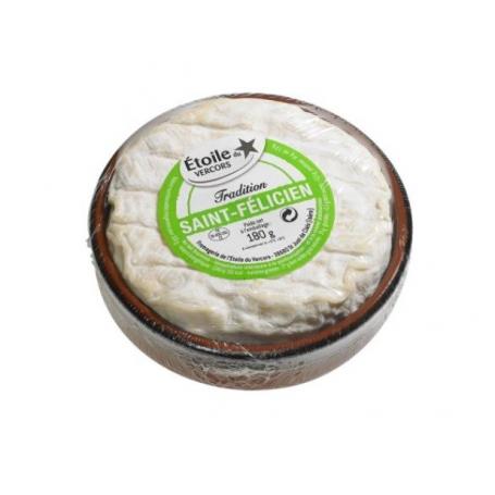 Saint Félicien in ceramic jar, Cow's milk, 180 gr