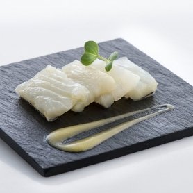 Carpaccio di Baccalà marinato al lemongrass, 300 gr - Giraldo - Gastronomia pronta