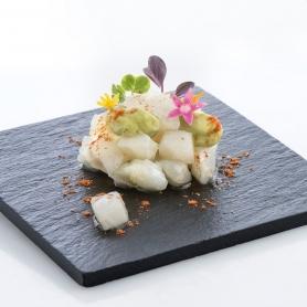 Tartare di Baccalà marinato al lemongrass, 300 gr - Giraldo - Gastronomia pronta