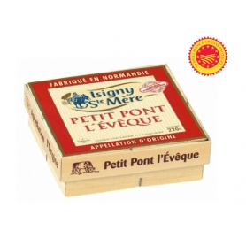 Pont l'Eveque DOP, Cow milk, 220 gr.