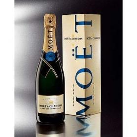Champagne Moet & Chandon Réserve Impériale, l. 0,75 - astuccio 3 bott.