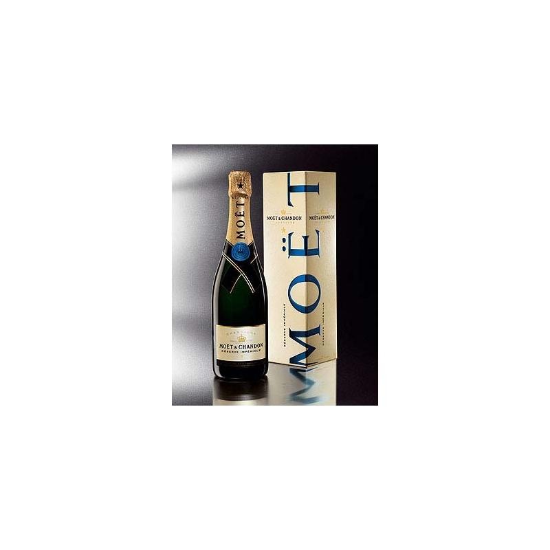 Moet & Chandon - Champagne Réserve Impériale, l. 0,75 astuccio 3 bott.