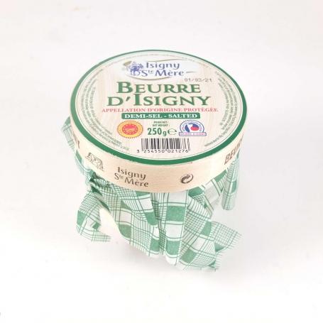 Burro d'Isigny AOP demi sel (salato), 250 gr - Isigny S.te Mère