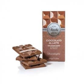 Tavoletta di cioccolato al latte senza zuccheri aggiunti, 100 gr - Venchi