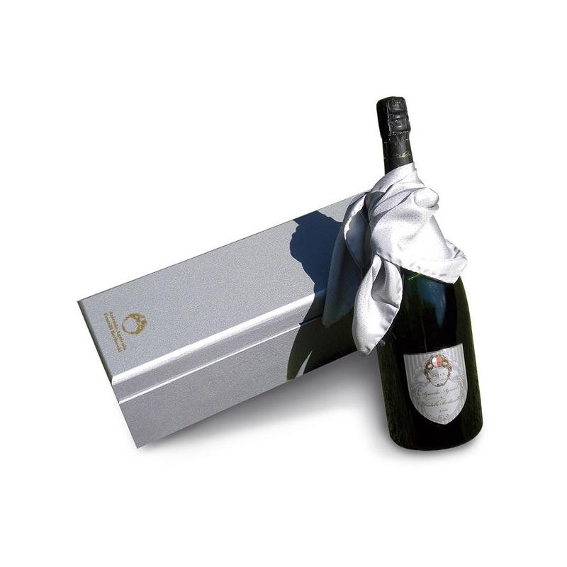Fratelli Berlucchi Franciacorta - Sparkling Saten, l. 0,75 1 sachet de bouteille.