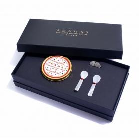 Cofanetto Caviale Love Edition - 100 gr caviale + 2 cucchiaini madreperla