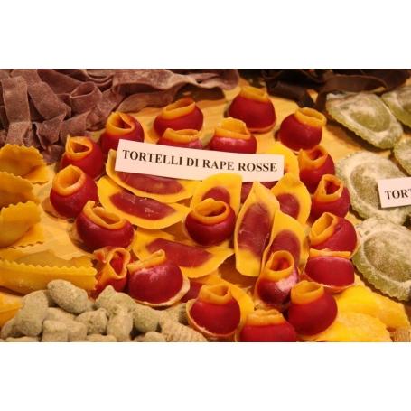 Tortelli di rape rosse, 400 gr
