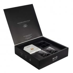 NIO BOX EXPERIENCE - 5 Cocktails + 2 Bicchieri + Stampo ghiaccio XL