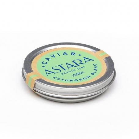 Caviar Esturgeon Blanc, 30 g - ASTARA